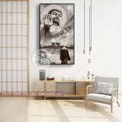 Tranh phật giáo, Phật Tổ ban phúc lành-THC-150