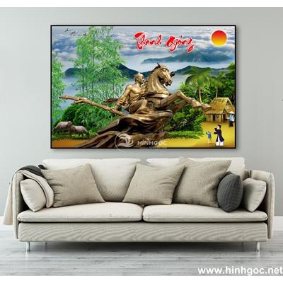 Tranh sơn dầu làng quê Việt Nam - TLQ-125