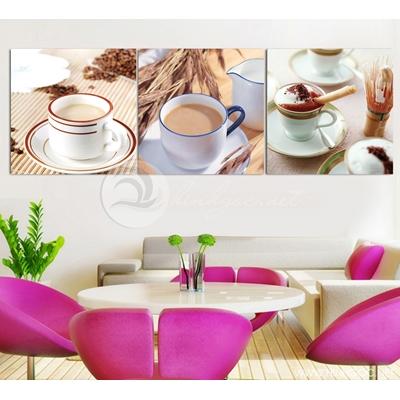 Tranh bộ ly cafe - TPART-42