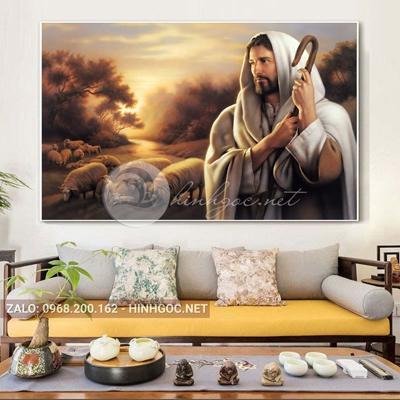 Tranh công giáo, Chúa GiêSu và đàn cừu-TTDP-20