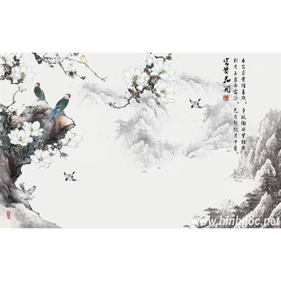File tranh dán tường 3D khổ lớn - X6-079