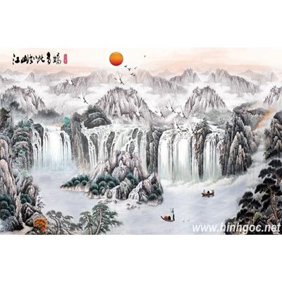 File tranh dán tường 3D khổ lớn - X6-093