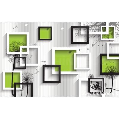 File tranh dán tường 3D khổ lớn - X6-173