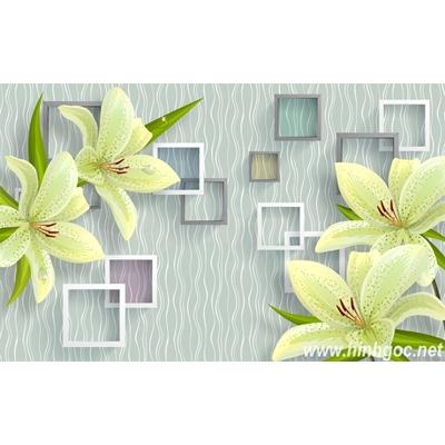 File tranh dán tường 3D khổ lớn - X6-178