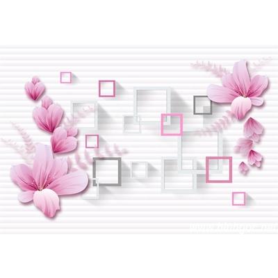 File tranh dán tường 3D khổ lớn - X6-209
