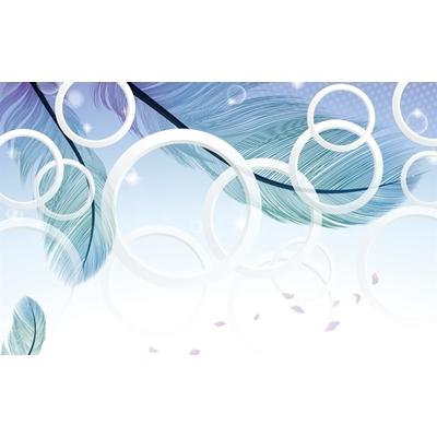File tranh dán tường 3D khổ lớn - X6-219