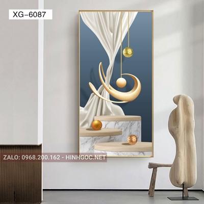 Tranh trừu tượng hình line art nghệ thuật-XG-6087