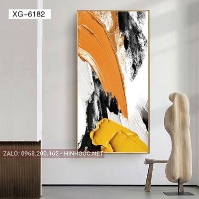 Tranh trừu tượng, nghệ thuật hiện đại-XG-6182