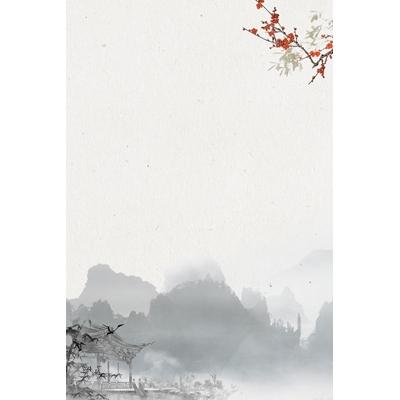 Mẫu poster phong cảnh thiên nhiên - YTK-09
