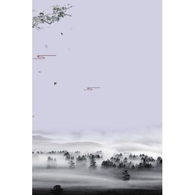 Mãu poster phong cảnh cánh rừng - YTK-10