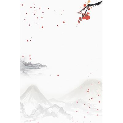 Mẫu poster hoa đào - YTK-65